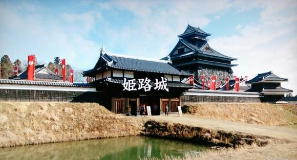 NHK大河ドラマ「軍師官兵衛」の秀吉時代の姫路城