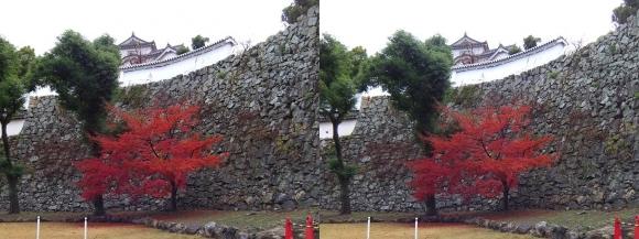 姫路城上山里(平行法)