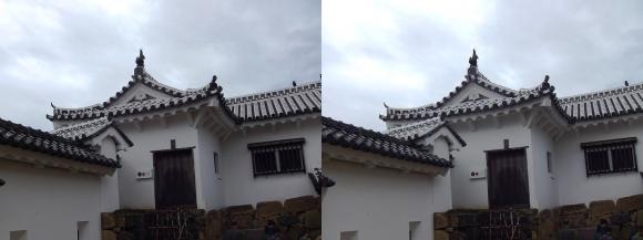 姫路城太鼓櫓(平行法)