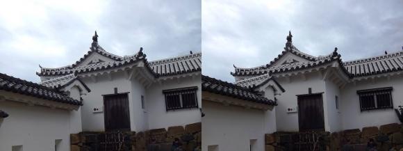 姫路城太鼓櫓(交差法)