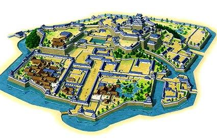 江戸中期の姫路城内郭