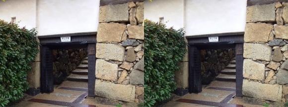姫路城ほの門(平行法)
