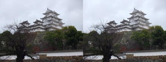 姫路城三国堀①(平行法)