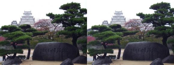 姫路城三の丸広場①(平行法)