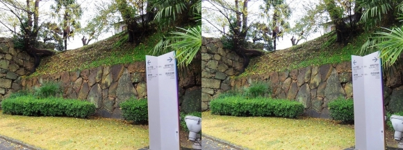 姫路 大手町通り 中之門跡石垣(平行法)