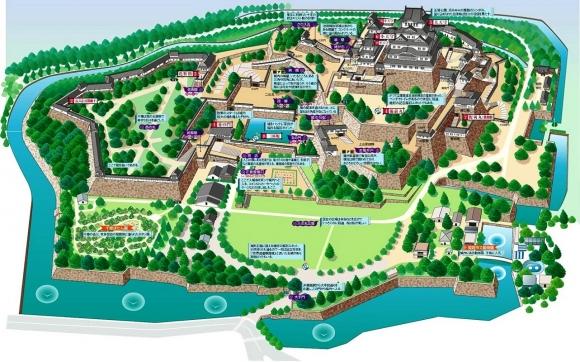 姫路城俯瞰図