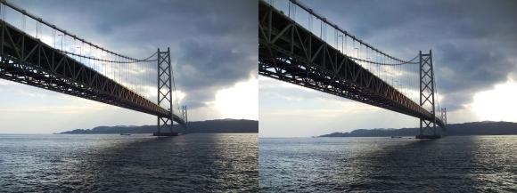 明石海峡大橋⑦(交差法)