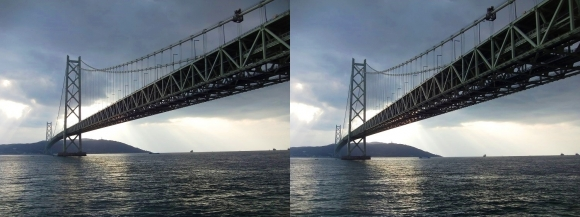 明石海峡大橋⑥(平行法)