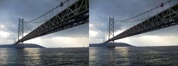 明石海峡大橋⑥(交差法)