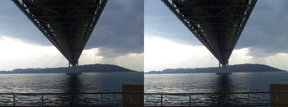明石海峡大橋④(平行法)