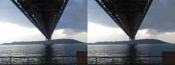 明石海峡大橋④(交差法)