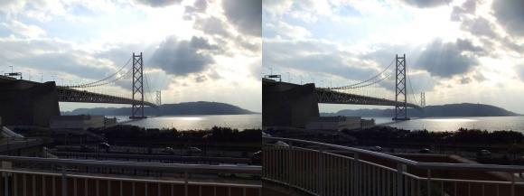 明石海峡大橋②(平行法)