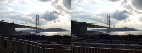 明石海峡大橋②(交差法)