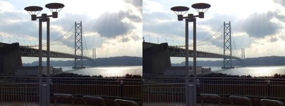 明石海峡大橋①(平行法)