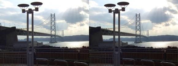 明石海峡大橋①(交差法)