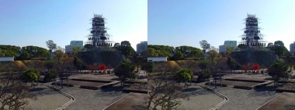 赤穂城跡 本丸庭園①(平行法)