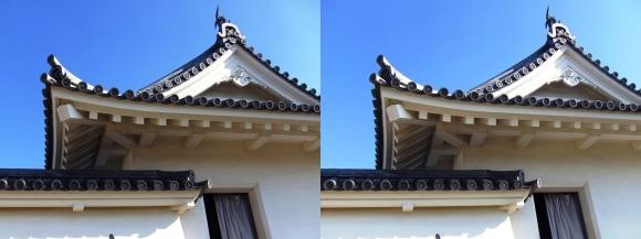 赤穂城跡 本丸櫓門(平行法)