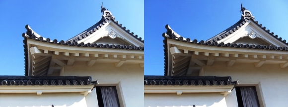 赤穂城跡 本丸櫓門(交差法)