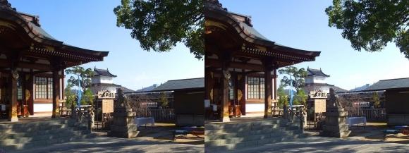 大石神社 境内①(平行法)