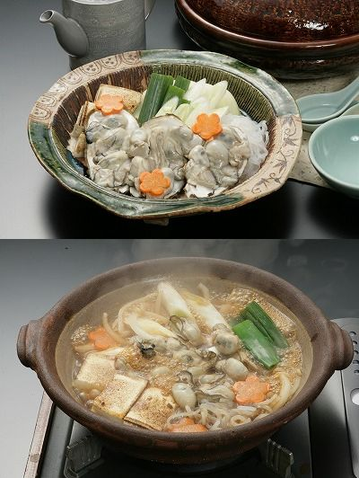 牡蠣すき焼き