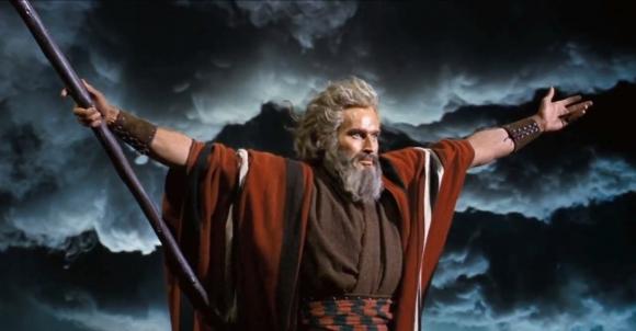 The Ten Commandments(1956)Parting The Red Sea Screenshot