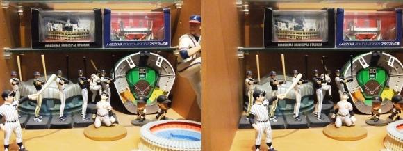 MOTOs Museum 野球展示館③(交差法)