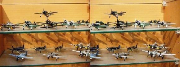 MOTOs Museum 飛行機展示館③(平行法)