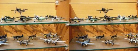 MOTOs Museum 飛行機展示館③(交差法)
