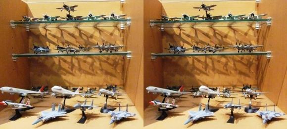MOTOs Museum 飛行機展示館②(交差法)