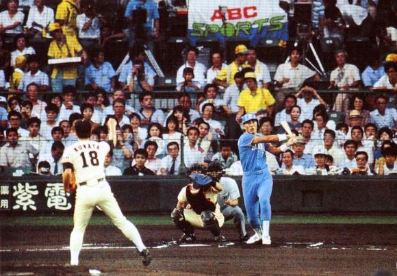 オールスター戦 清原vs桑田(1987年 阪神甲子園球場)