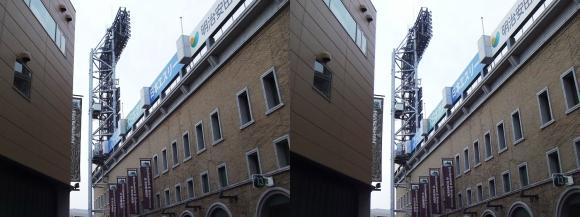 阪神甲子園球場外観⑤(平行法)