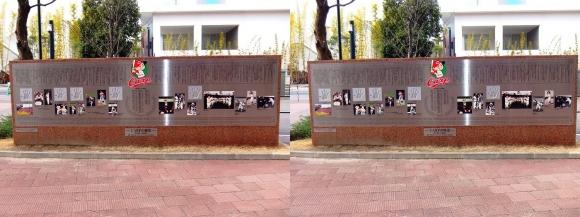 MAZDA ZOOM-ZOOM スタジアム 広島 CARPの歴史碑 (平行法)