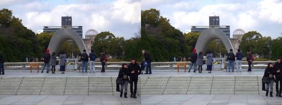 平和記念公園(平行法)