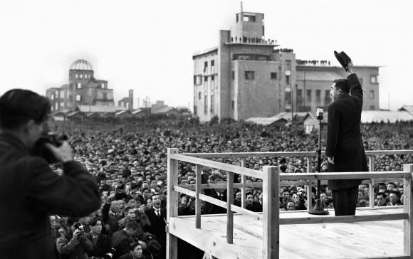 昭和天皇の広島巡幸(1947.S22.12.7)