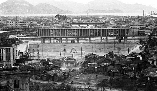 昭和29年広島平和記念公園
