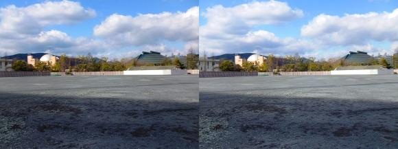 旧広島市民球場跡地(平行法)