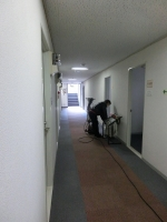 全館カーペット清掃(2)