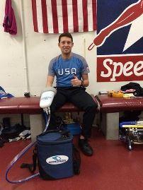 Jonathan Garcia, US Olympic 1000M Skater