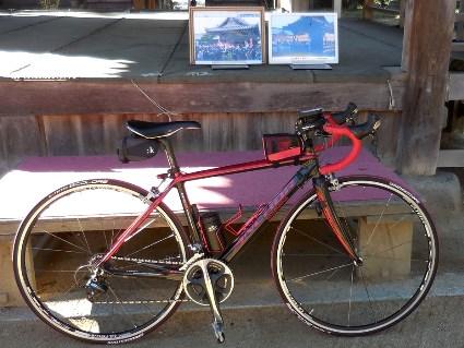 自転車と住吉神社