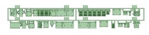 京阪600形床下機器セット(1編成)【武蔵模型工房 Nゲージ 鉄道模型】-0
