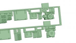 京阪600形床下機器セット(1編成)【武蔵模型工房 Nゲージ 鉄道模型】-3