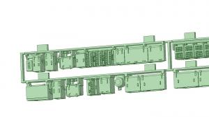 京阪600形床下機器セット(1編成)【武蔵模型工房 Nゲージ 鉄道模型】-2