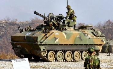 K263A1天弓 자주발칸포 KM167A1 K200 装甲兵員輸送車 K200 KIFV AIFV (Armored Infantry Fighting Vehicle) Korea Infantry Fighting Vehicle 韓国歩兵戦闘車 米韓合同軍事演習Key Resolve キーリゾルブ 키 리졸브 2016