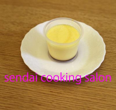 仙台人気料理家のプリン