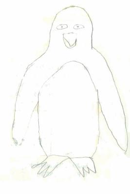画伯ペンギン1