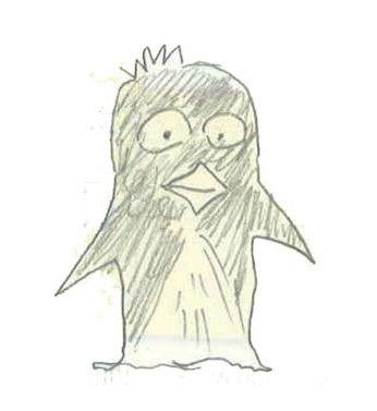 画伯ペンギン3