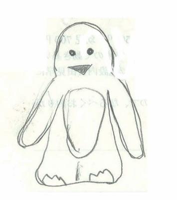 画伯ペンギン4