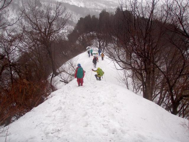 三の峠下山