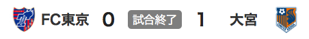 227東京0-1大宮