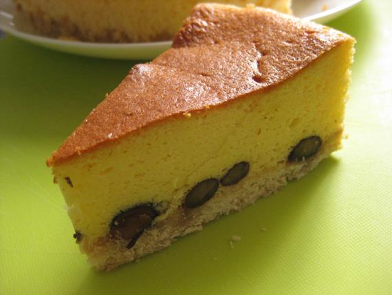 黒豆チーズケーキ06